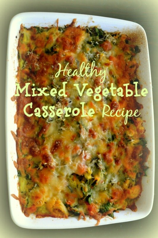Healthy mixed vegetable casserole recipe creative healthy family healthy mixed vegetable casserole recipe forumfinder Images
